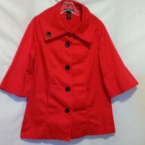 Attention Red Coat Size S